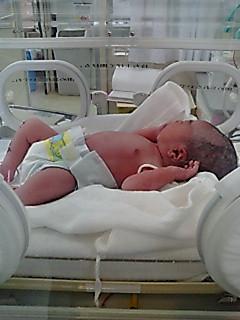 兄夫婦に赤ちゃん誕生!