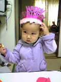 二歳の誕生日( ^^)Y☆Y(^^ )